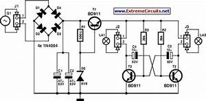 led bike light circuit project circuit diagram world With led hobby circuit