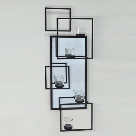 tealight wall sconce better homes and gardens tealight wall sconce black