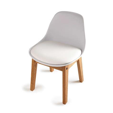 maisons du monde canapé chaise enfant en polypropylène et chêne blanche