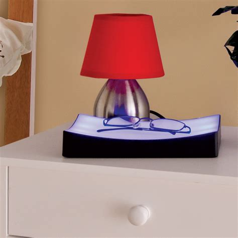 bedside touch l tray bedroom lights dimmer blue table