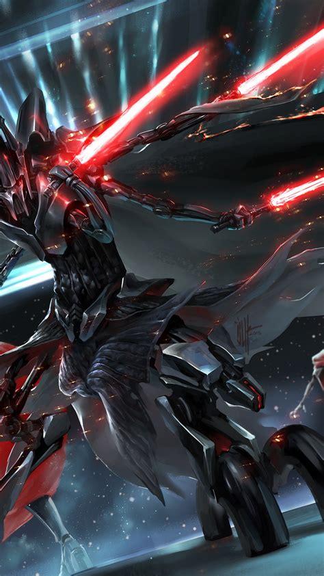 wallpaper general grievous star wars hd creative