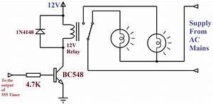 Electro  Rangkaian Lampu Disko