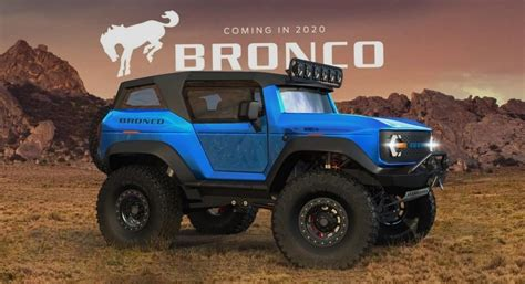 ford bronco  release date redesign colors