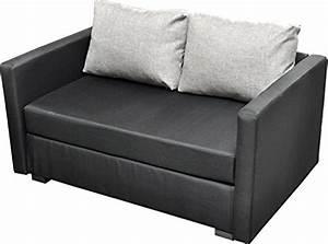 Couch Mit Großer Liegefläche : vcm 2er schlafsofa sofabett couch sofa mit schlaffunktion bettsofa 60x122x78 cm engol schwarz ~ Bigdaddyawards.com Haus und Dekorationen
