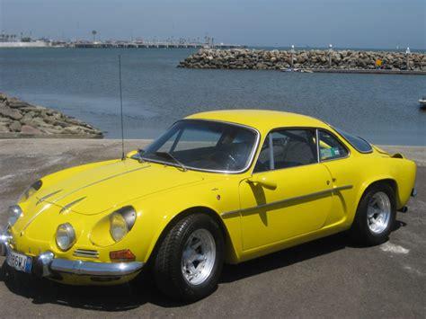 renault yellow 1973 renault alpine british european auto