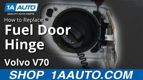 replace fuel door hinge   volvo  youtube