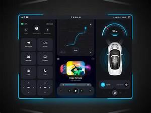 Tesla Model 3 UX UI by Easin Arafat on Dribbble