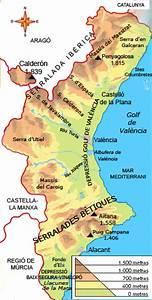 Cultura Valenciana   El Medi F U00cdsic A La Comunitat Valenciana
