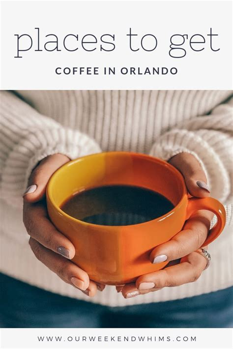 Orlando, winter park and altamonte springs. Places to Get Coffee in Orlando (With images) | Cute coffee shop, Orlando, Best coffee shop