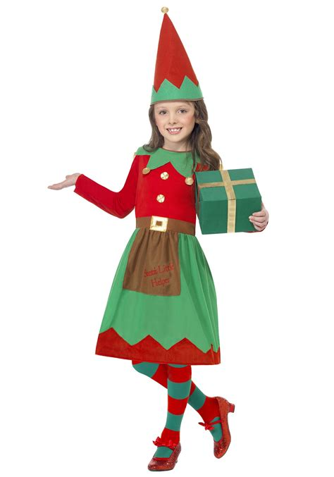 girls santa s little helper costume