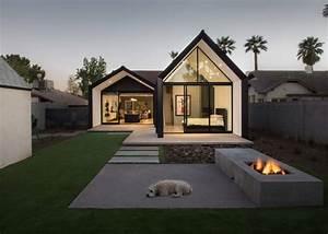 Home Design Und Deko : modern home addition extends out in two open rooms ~ Michelbontemps.com Haus und Dekorationen