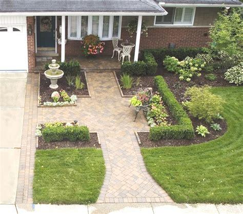 front to back split level house plans landscape design installation macomb county landascaping