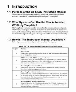 11  Free Instruction Manual Templates Word Pdf