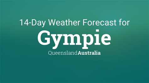 gympie queensland australia  day weather forecast