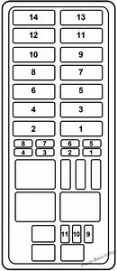 Fuse Box Diagram  U0026gt  Ford Explorer  1996