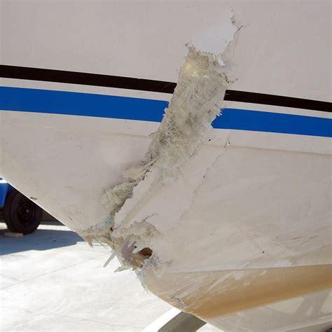 Boat Hull Fiberglass Repair by Mach Boats Fiberglass Repair Fix Damage To Your Hull