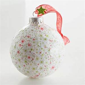 Weihnachtskugeln Selbst Gestalten : kreativer christbaumschmuck zum selberbasteln 5 schlaue ~ Lizthompson.info Haus und Dekorationen