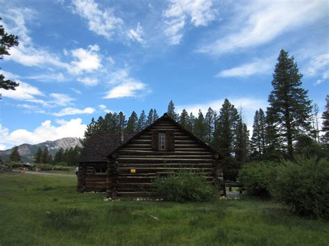 Mammoth Lakes Cabin Mammoth Museum At The Hayden Cabin In Mammoth Lakes Ca