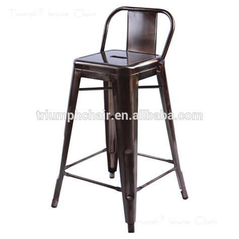 chaise de bar vintage triumph de haute qualité métal extérieur tabourets de bar