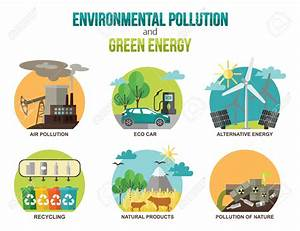 Cars and air pollution vector illustration clipart