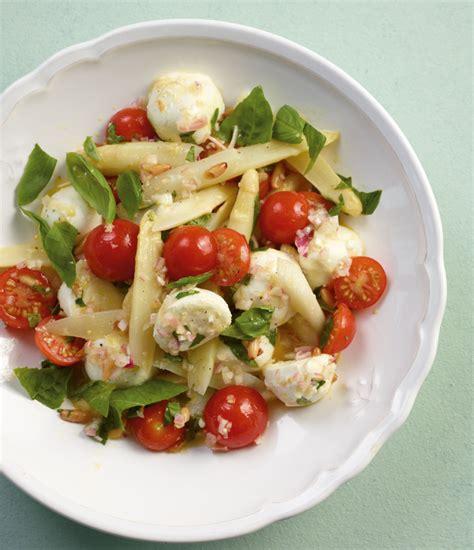 spargelsalat mit basilikum vinaigrette rezept essen und