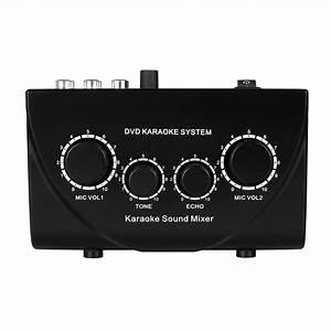 Karaoke Mixer Fifine Digital Audio Sound Echo Mixer with ...