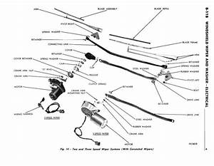 What Holds The Wiper Linkage Arm Onto The Wiper Motor