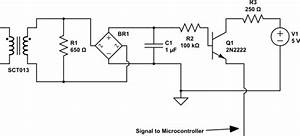 Mains - Ac Current Sensing Switch Using Current Transformer