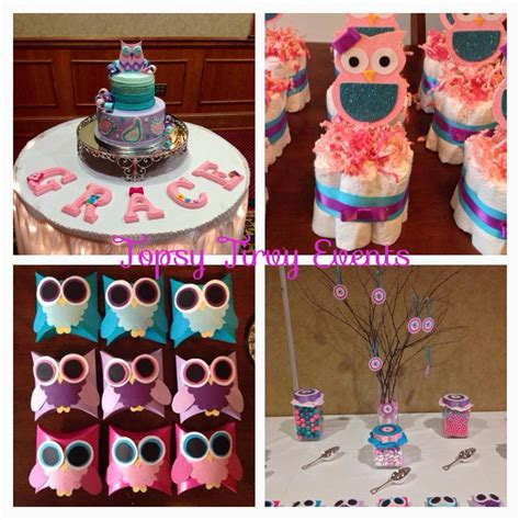 owl baby shower theme ideas  practical baby shower guide
