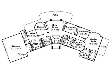 southwest floor plans southwest house plans estefan 30 125 associated designs
