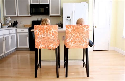 slipcovers for bar chairs bar stool slipcovers homesfeed