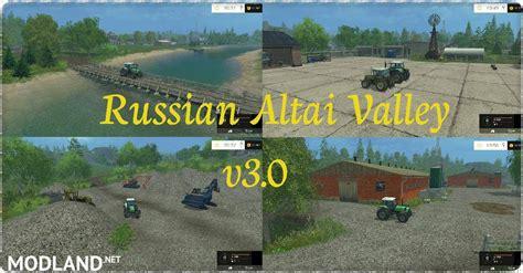 russian altai valley map v 3 0 mod for farming simulator 2015 15 fs ls 2015 mod