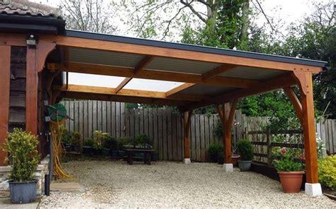 costruire tettoia legno auto tettoia in legno auto