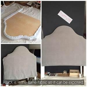 Tissu Pour Tete De Lit : faire tete de lit en tissu ~ Teatrodelosmanantiales.com Idées de Décoration