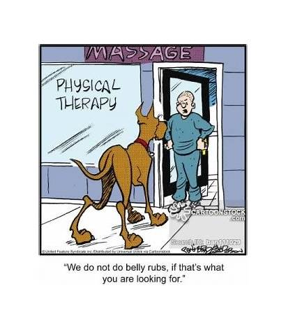 Therapy Physical Funny Massage Humor Therapist Cartoons