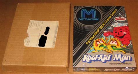 Atari 2600 Vcs Kool-aid Man