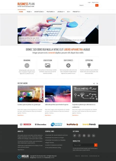 businees 2 joomla template joomla 3 templates