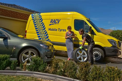 mobile tyre services replacement racv