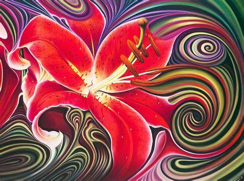 cuadros modernos pinturas y dibujos cuadros de flores abstractos galer 237 a