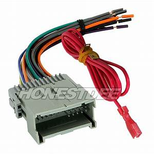 Aftermarket Car Stereo  Radio To Gmc Wiring  Wire Harness