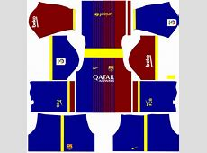 Dream League Soccer 2017 Barcelona Kits Android Red