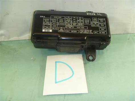 sell genuine acura oem fuse panel box tl 3 2 electric