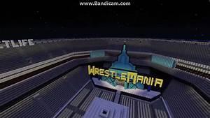 WWE Wrestlemania 29 Metlife Stadium Minecraft YouTube
