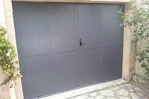 Porte De Garage 4 Vantaux : porte de garage 4 vantaux b ziers les r alisations de la ~ Dallasstarsshop.com Idées de Décoration