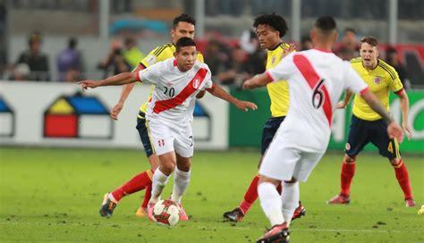 Luis muriel (colombia) wins a free kick in the attacking half. Perú perdió 3-0 ante Colombia por partido amistoso previo ...