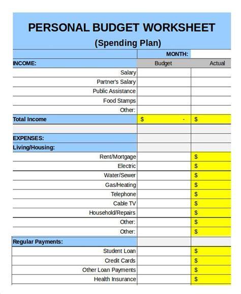 family budget templates   xls