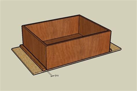 comment fabriquer un tiroir fabriquer un tiroir coulissant en bois