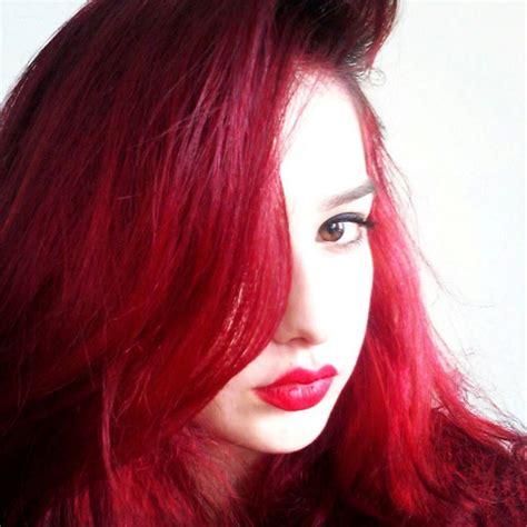 manic panic vampire red hair colar  cut style