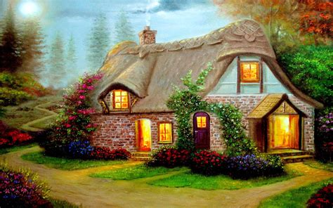 country cottage wallpaper beautiful cottage high definition widescreen