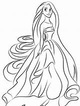 Princess Coloring Pages Printable sketch template